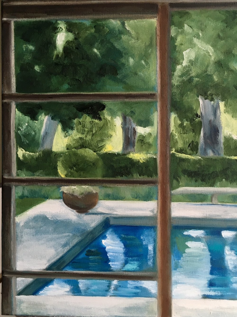 """Pool View"" 