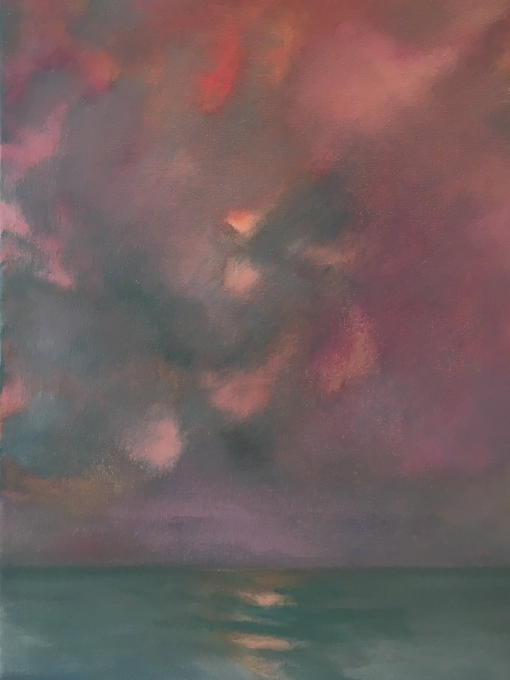 """""""Soft Coral Sunset"""" 