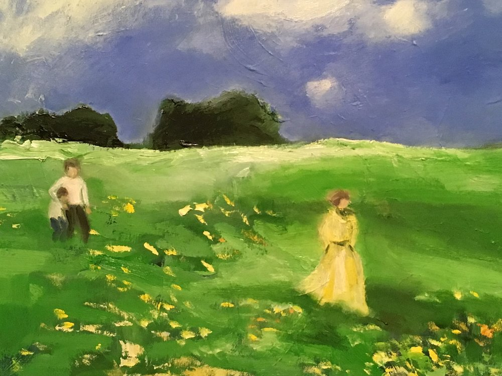 """Walking Through Field Of Yellow"" 