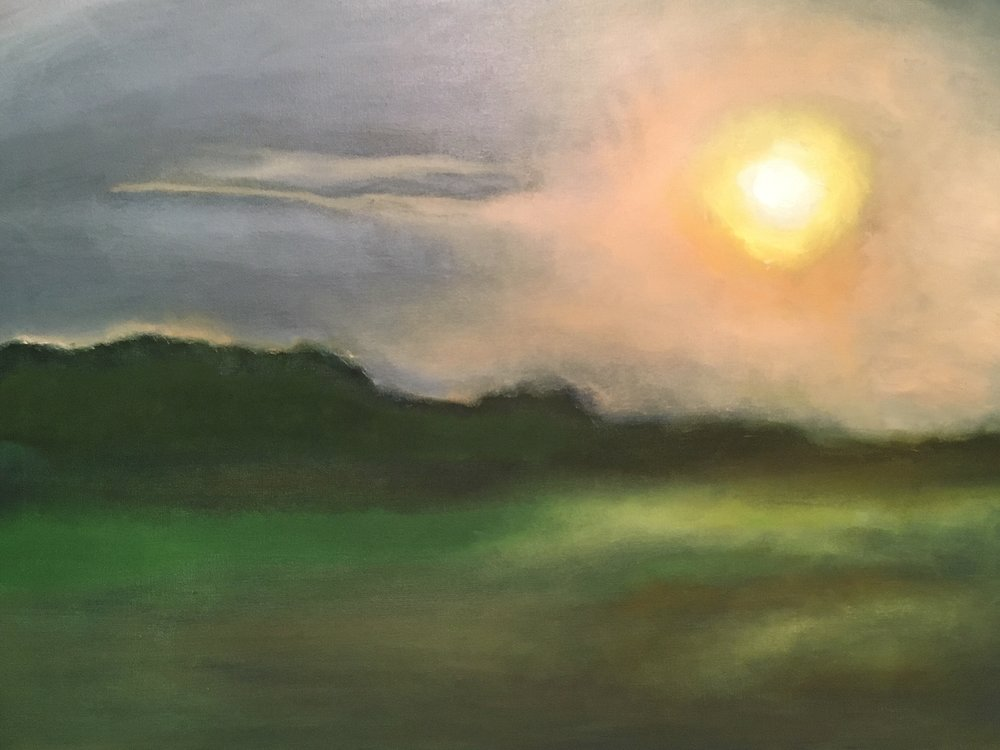 """Sunset At Robert Moses"" 
