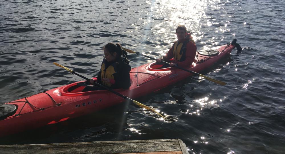 Kayak used during test