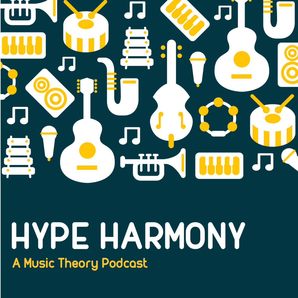 The Hype Harmony Podcast - Music takes a LONG time to learn. So why not study as you go on those long road-trips or take a reflective walk around the block?