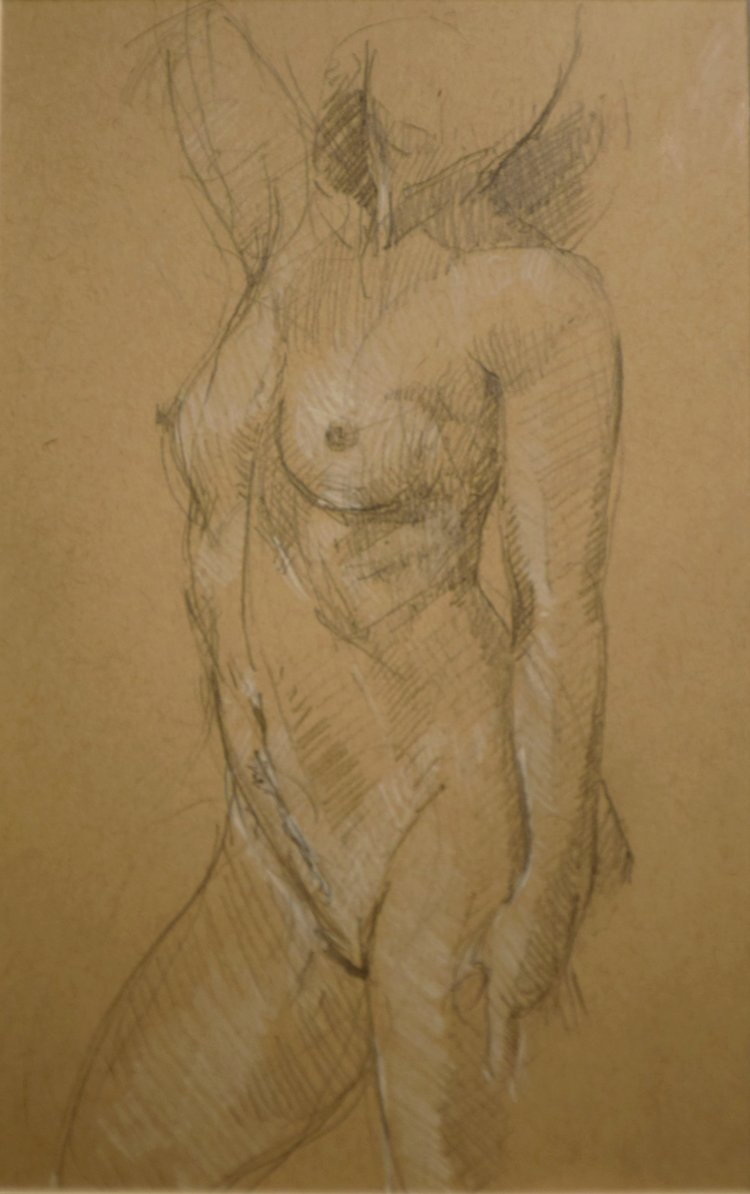 "27  Jenny Carolin  [ @jennyjennyc ]  Pencil on Paper 5""x8"""