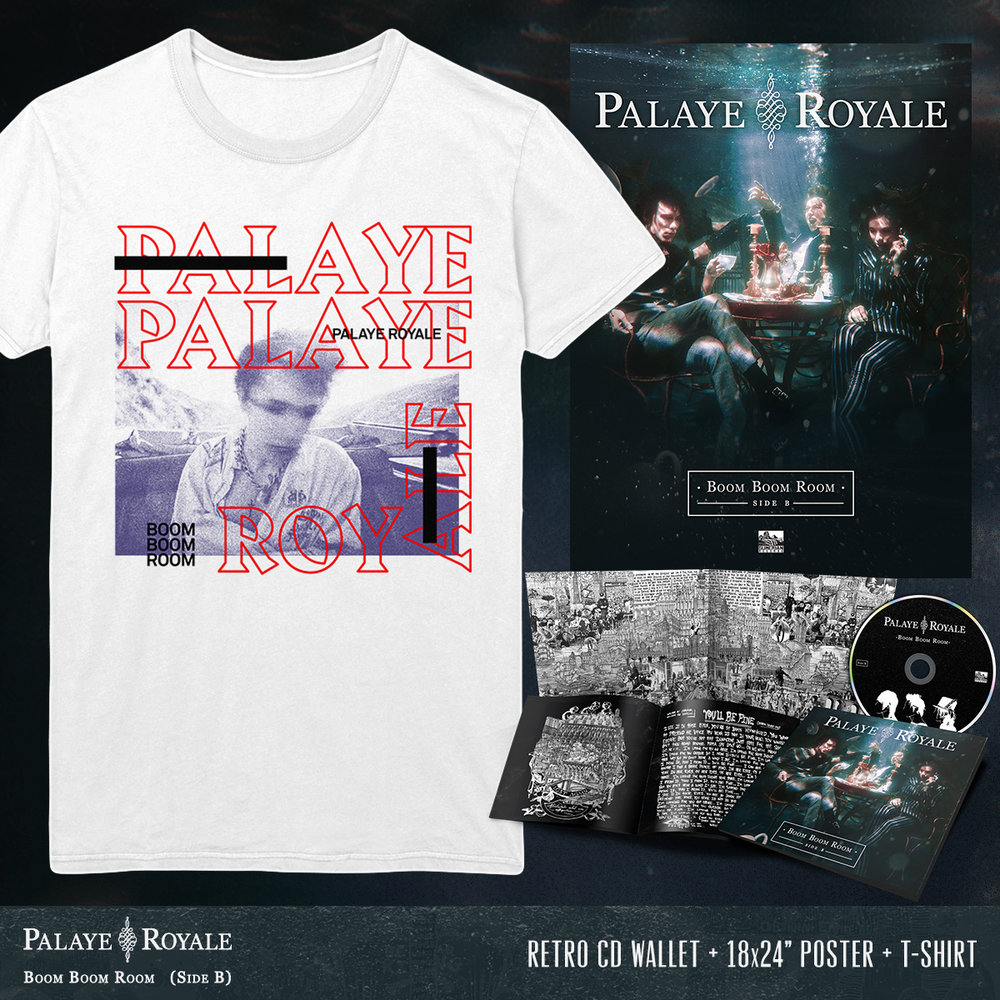 05 PR SIDE B - CD + POSTER + BACKSEAT WHITE TEE.jpg