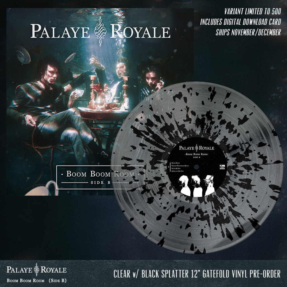 10 PR SIDE B - CLEAR WITH BLACK SPLATTER GATEFOLD VINYL.jpg