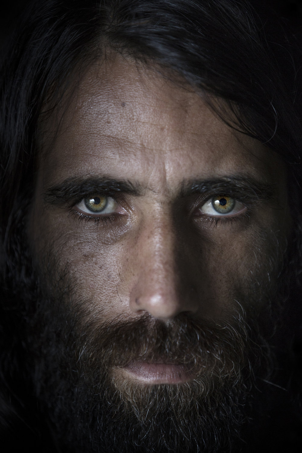Behrouz Boochani from Iran, exiled asylum seekers on the remote island of Manus / Papua New Guinea