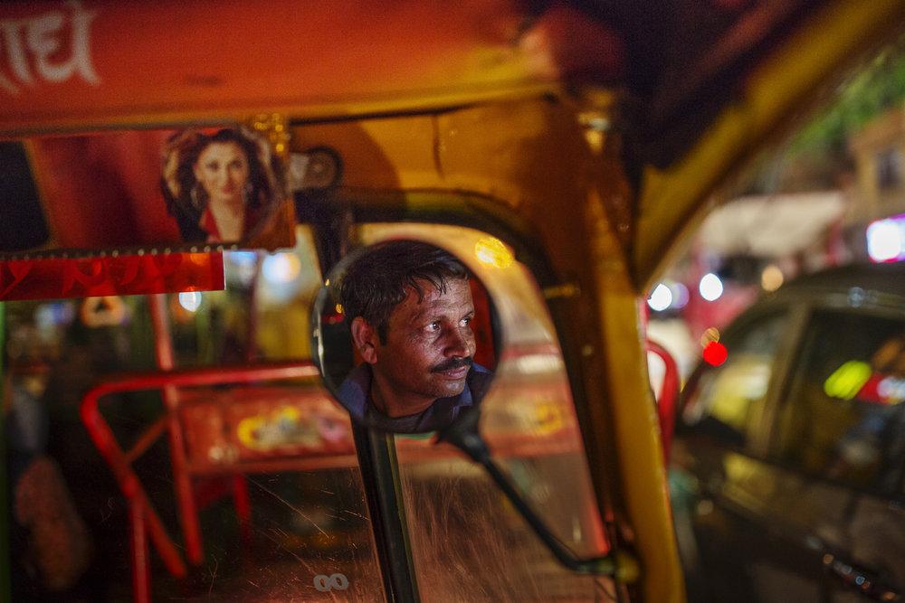 Auto rickshaw, New Delhi/ India