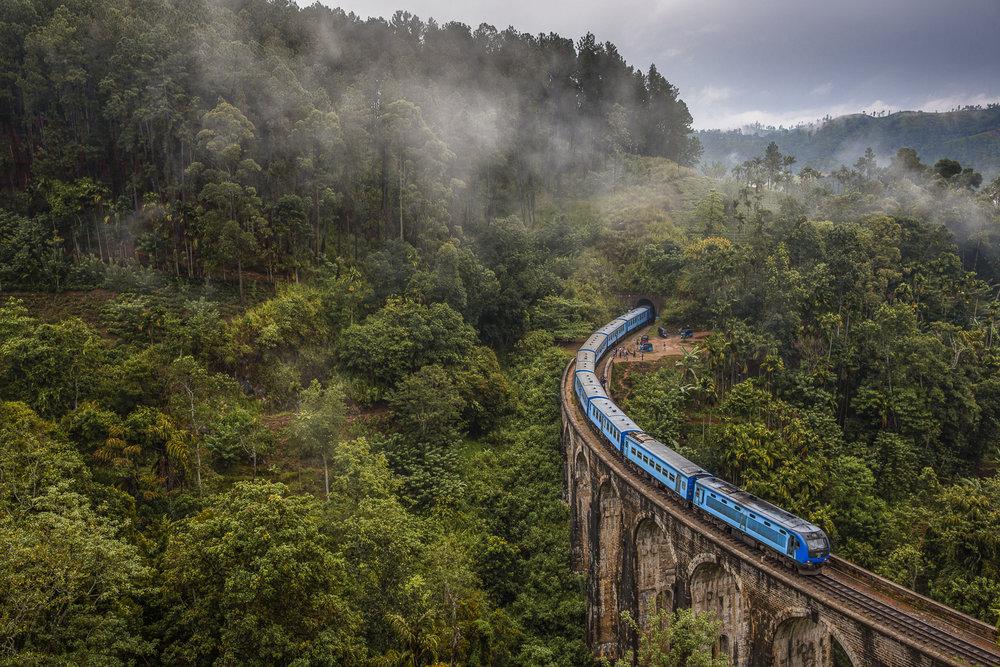 Nine arch bridge, Ella/ Sri Lanka