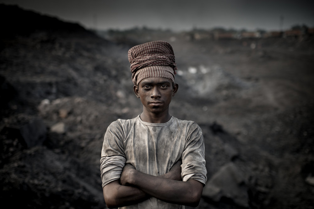 Coal miner, Jharkhand / India