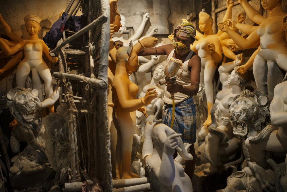 Statuemanufacturer, Calcutta/ India