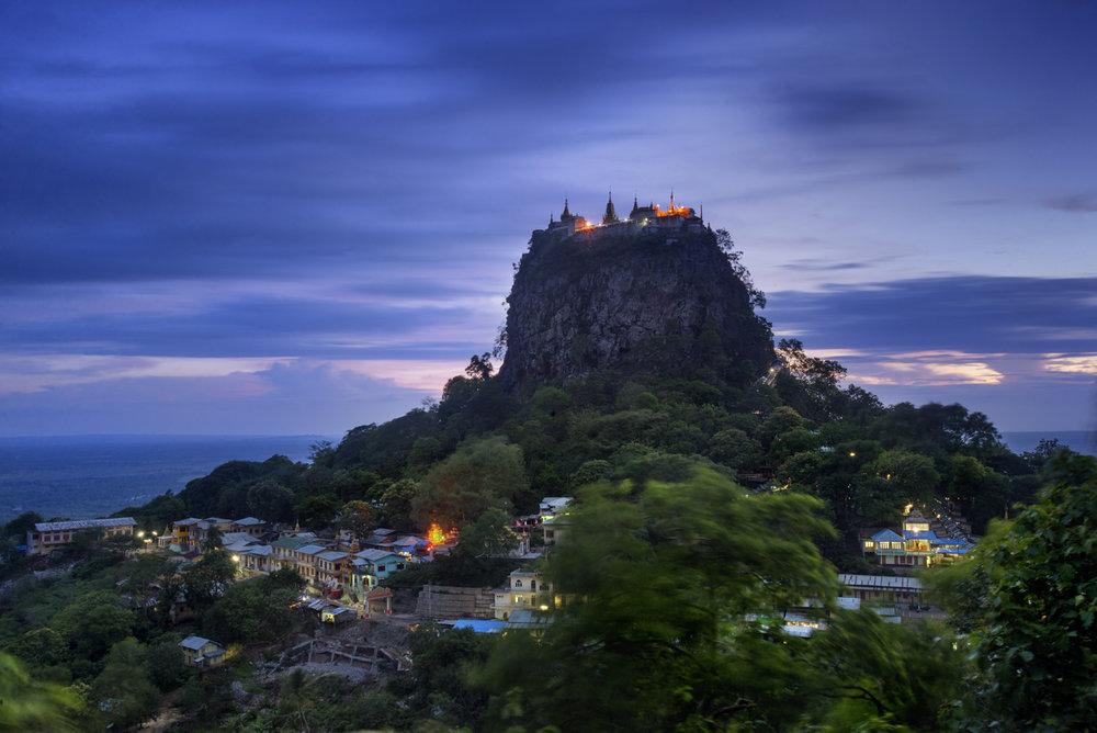 Mount Popa, Burma