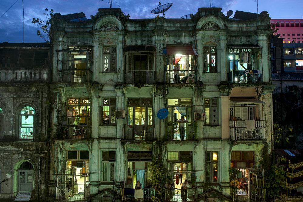 Victorian architecture, Yangon/ Burma