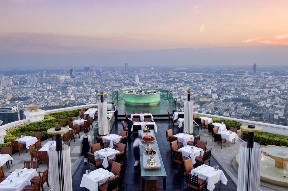 Sirocco sky bar, Bangkok/ Thailand