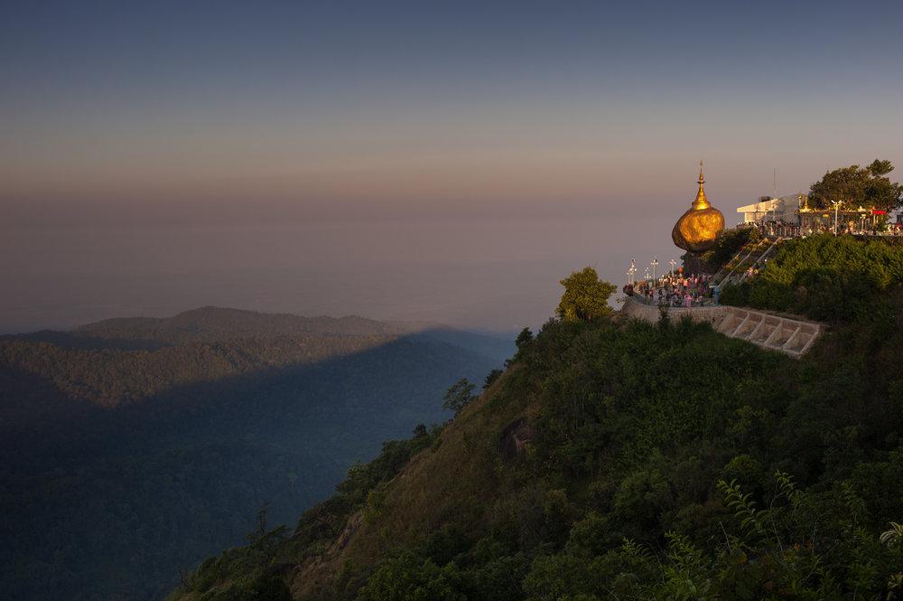 Kyaiktiyo Pagoda, Mon State/ Burma