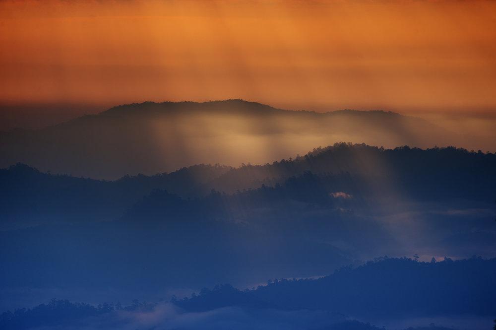 Sunrise, Pai / Thailand