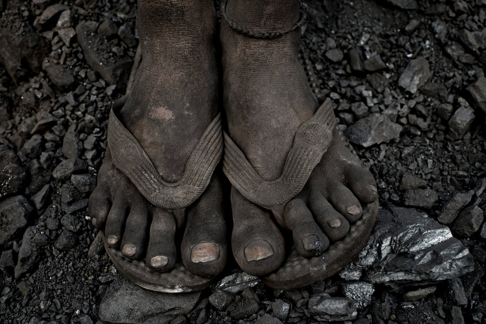 Coal miner, Jharkhand / India -2014