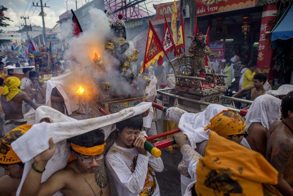 The Nine Emperor Gods Festival, Phuket/ Thailand