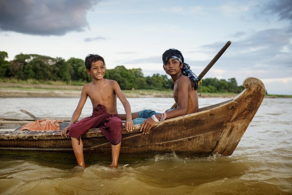 Irrawaddy river / Burma
