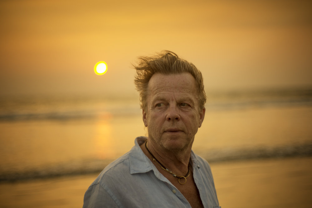 Krister Henriksson, Swedish actor, Goa / India