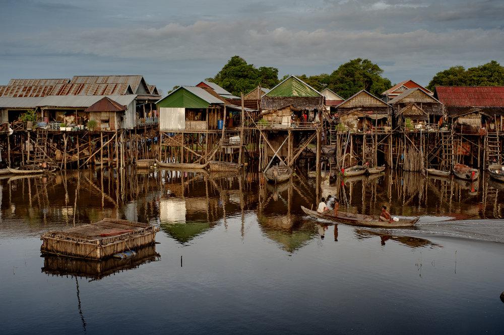 Floating village, Tonlé Sap / Cambodia