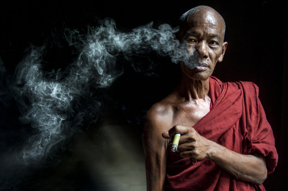 Buddhist monk, Mandalay / Burma