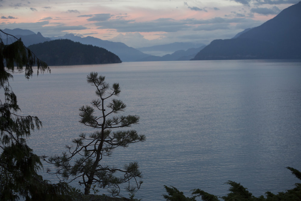 Howe Sound, BC, Canada