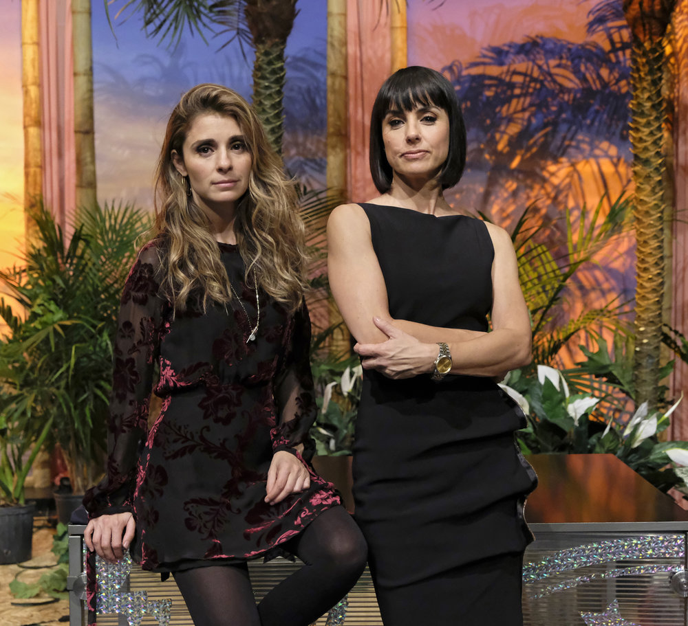 Shiri Appleby  and Constance Zimmer