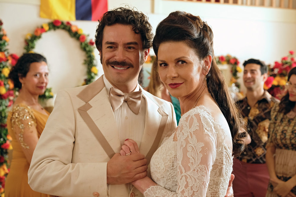 Juan Pablo Espinosa  and Catherine Zeta-Jones