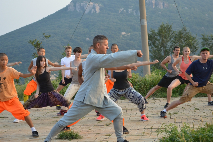 Shaolin class with the master.JPG