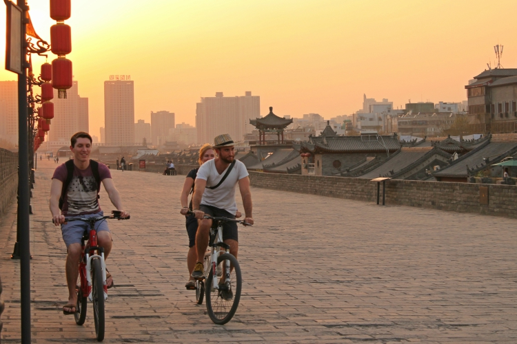 Xian Cycling City Wall.jpg