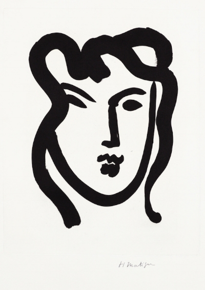 Henry Matisse, Patitcha 1947, Aquatint on BFK Rives paper, Edition of 25