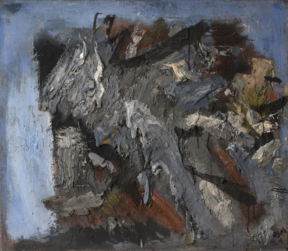 Gris et Bleu, 1954