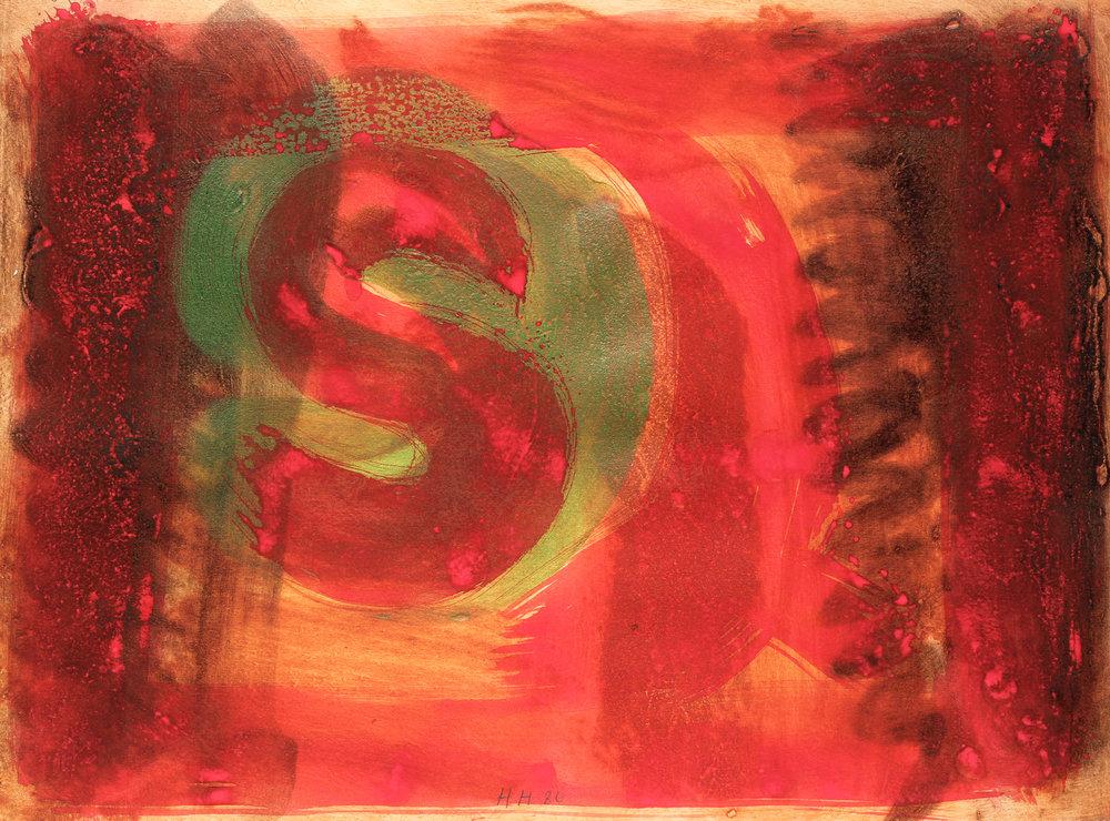 Listening Ear/Red Listening Ear, 1986
