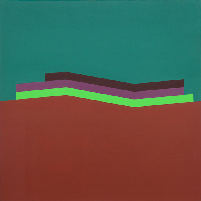 Marc Vaux,  Link , 1965, Acrylic on cotton duck, 213.3 x 213.3 cms (84 x 84 ins)