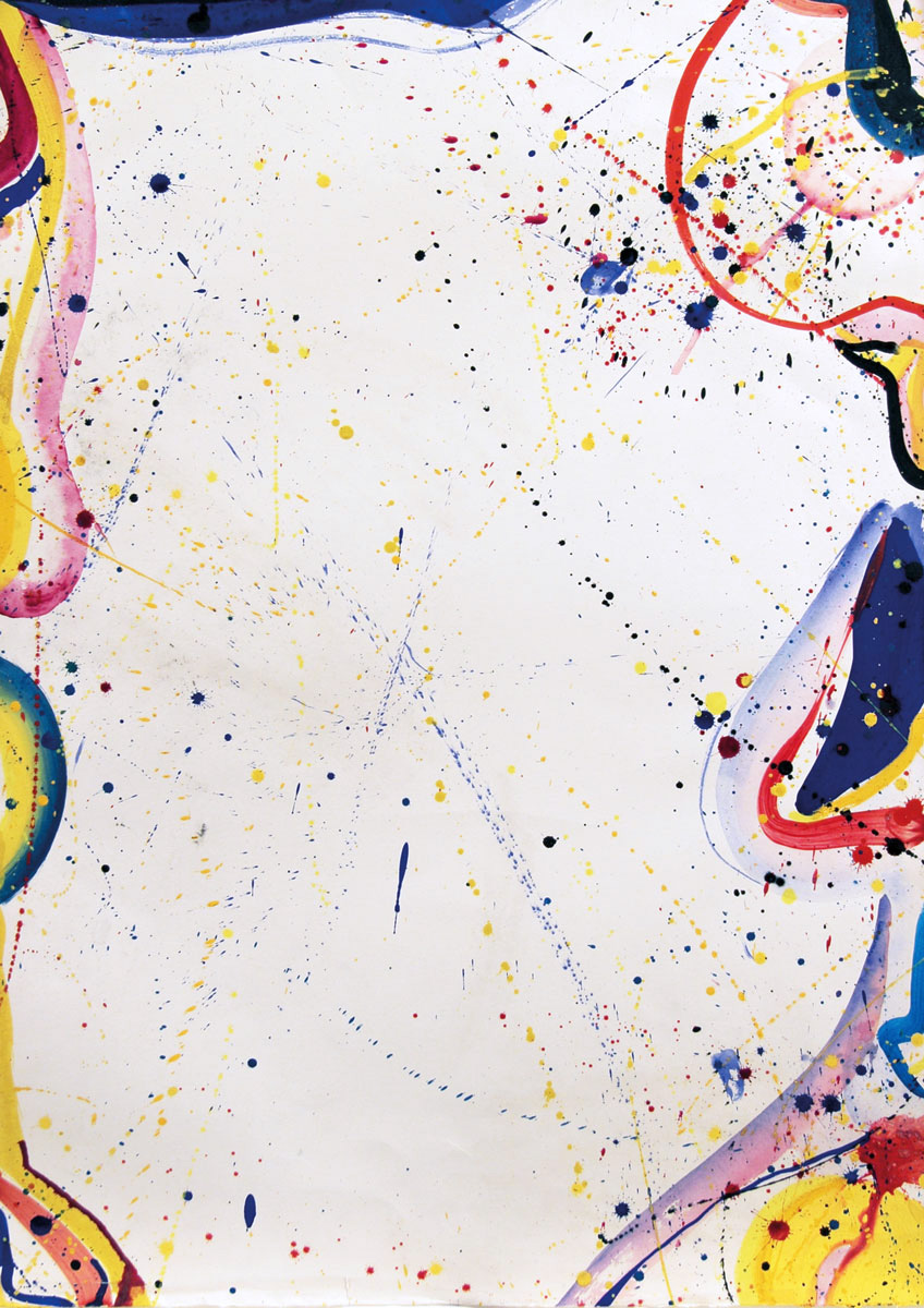 Untitled , 1964, Acrylic on paper, 90.17 x 62.9 cms (35 1/2 x 24 3/4 ins).