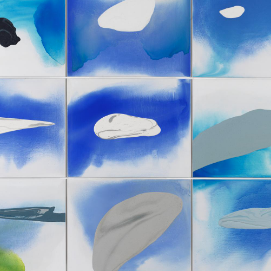 William Tillyer Season:New Paintings - Clouds - 19 May - 19 June