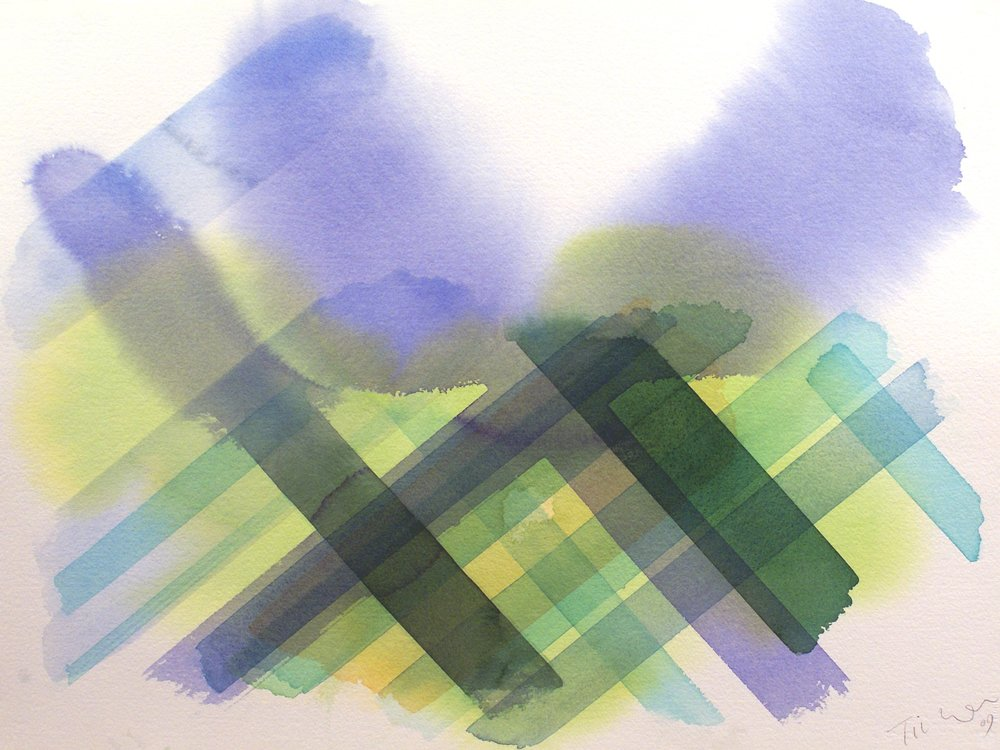 William tillyer,  Metamorphosis  57.2 x 76.2 CMS (22 1/2 X 30 INS)