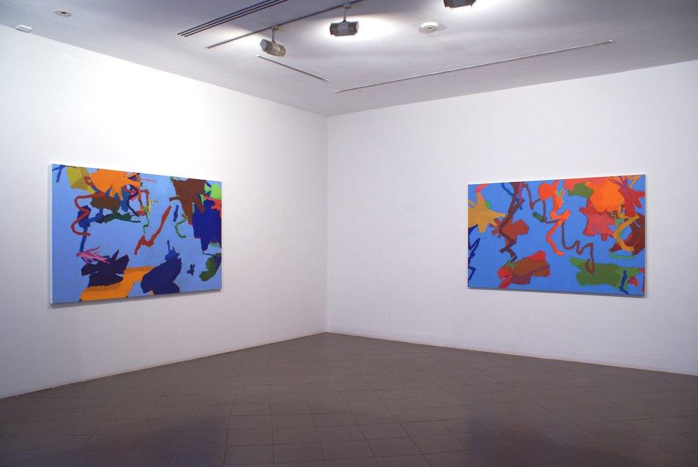 Cohen, Harold New Paintings 2011.8.JPG