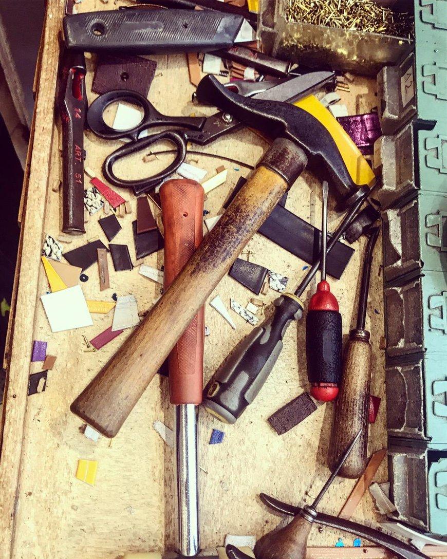 His tools