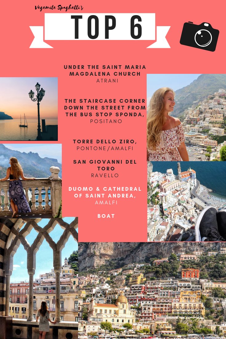 TOP PLACES OF PHOTOGRAPHY ON THE AMALFI COAST