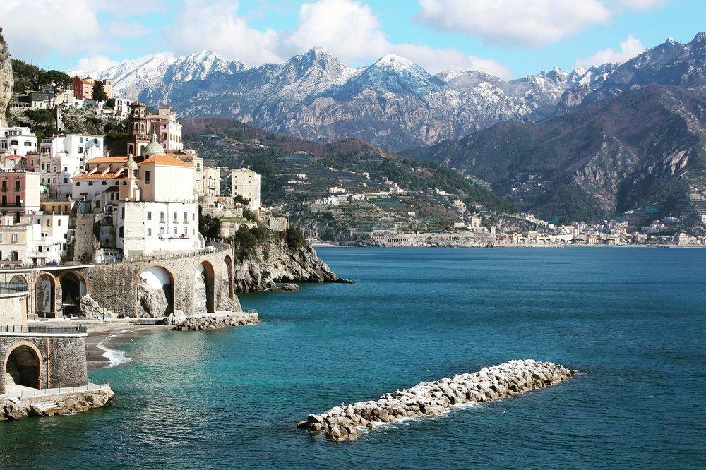Top places to stay. Atrani Amalfi Coast