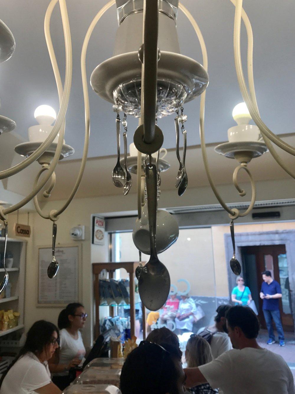 Collina bakery Positano