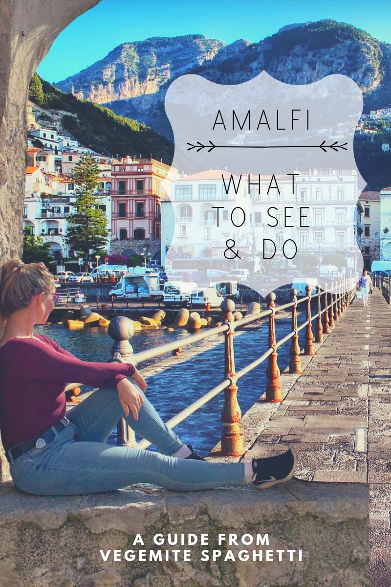things to do amalfi