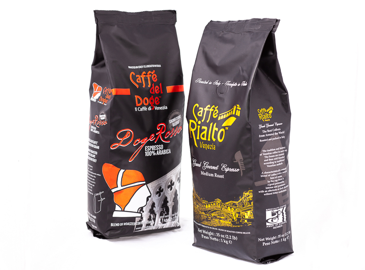 CAFFE` DEL DOGE & ANTICO EREMO - Contact us to discover our Signature and Classic blends and our whole range of Hot Chocolates