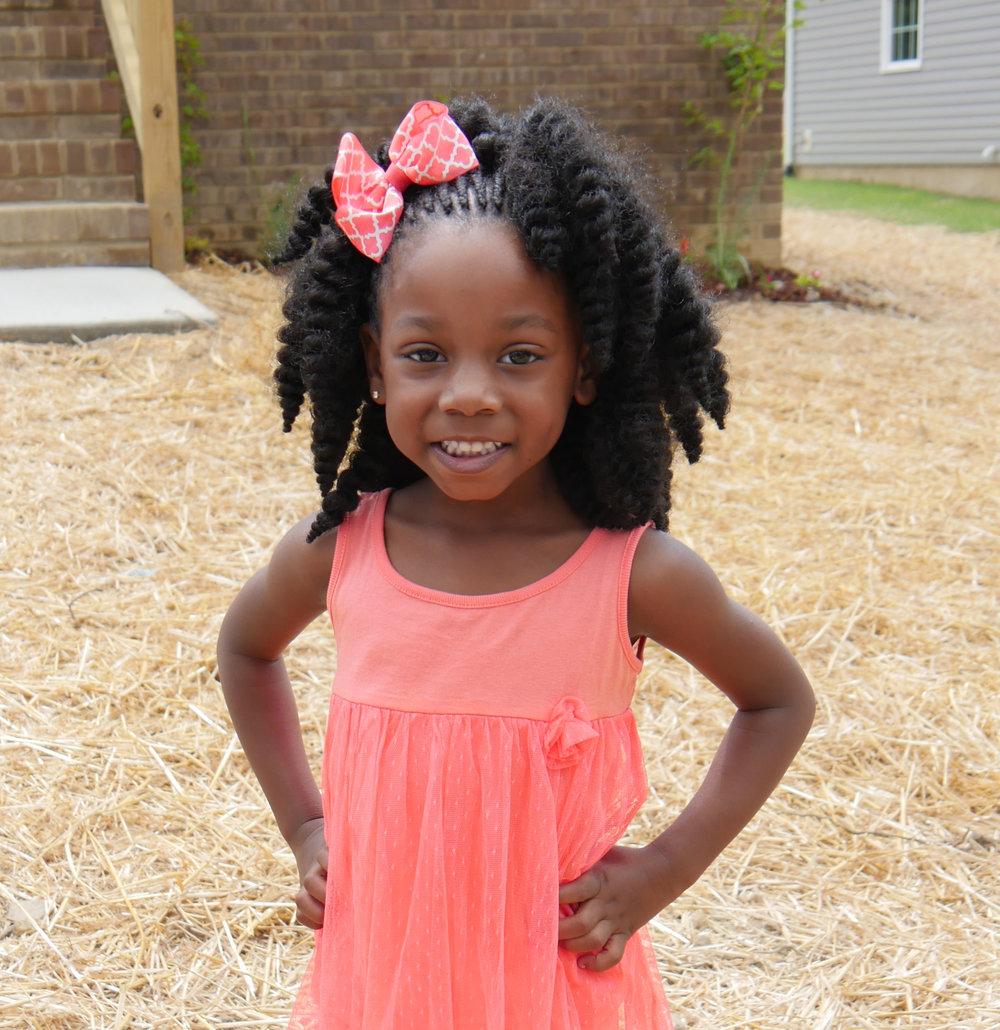 Cherish, age 3.