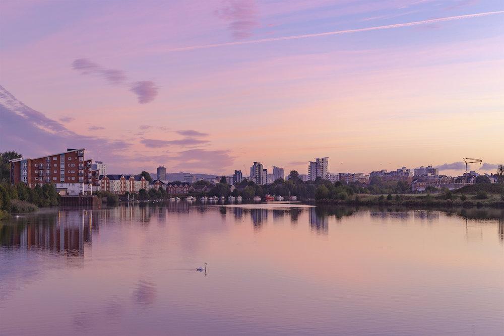 River Taff, Cardiff
