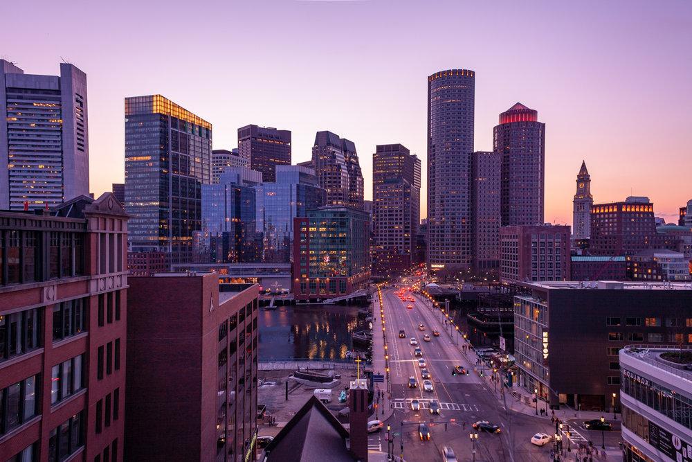 Boston Skyline, MA