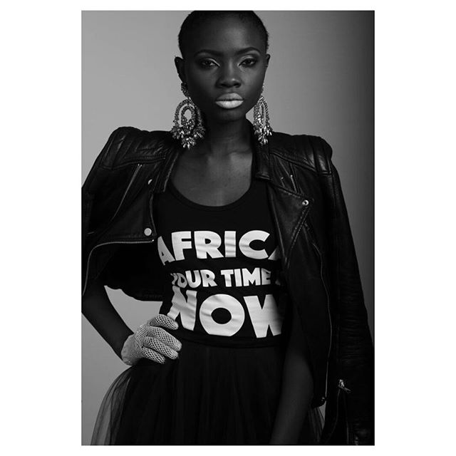There has never been a more pressing time to boost-express a sense of Afro-optimism. A time has come for each of us to rise up and show up, and to declare that as Africans, we are lunging forward into action NOW #AfricaYourTimeIsNow #Africa 🌍