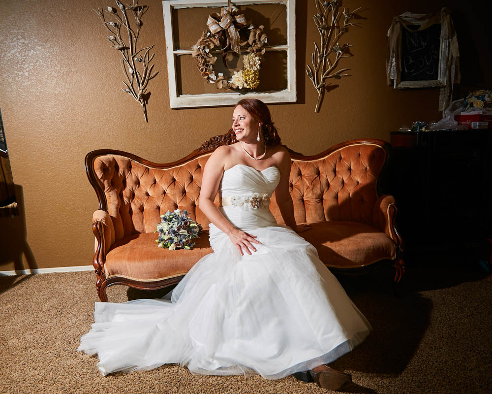 Perfect Backdrop for your Bridal Portraits - Our venue has just the right touch of unique vintage items so you don't have to go anywhere else for your bridal portraits.