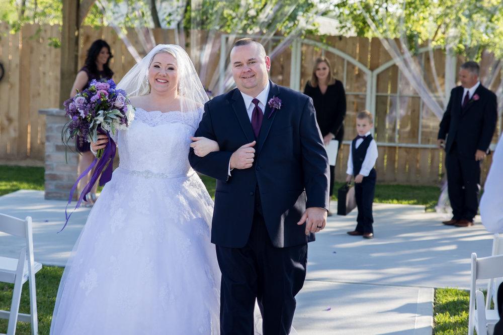 Police Force Wedding near Pearland, Texas